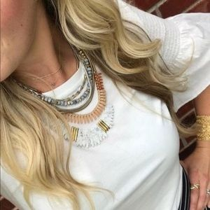 Stella & Dot Ezra Statement Necklace ~ Versatile!